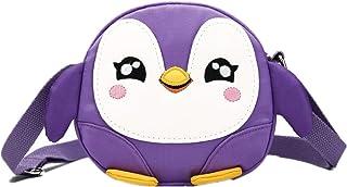 حقيبة كتف أطفال كروسبودي صغيرة لطيفة البطريق الفتيات المحافظ حقائب كارتون الحيوان رسول حقيبة يد