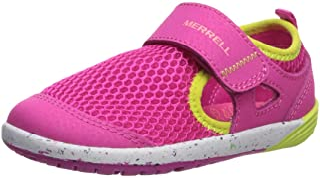 MERRELL Kids' Unisex M-Bare Steps H20 Water Shoe, Pink, 5 Medium US Toddler