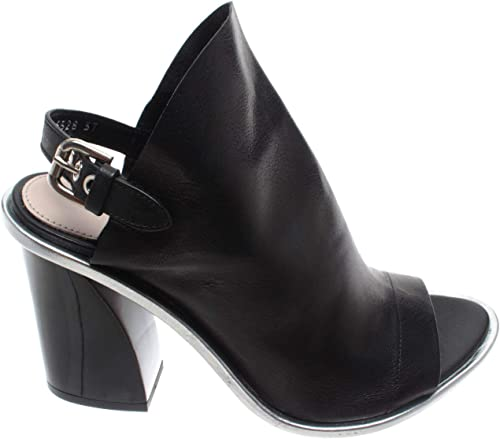 PREMIATA Damen Schuhe Sandalen Pumps M5328 Siviglia schwarz Leder SchwarzMade IT