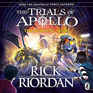 The Burning Maze     The Trials of Apollo, Book 3              Written by:                                                                                                                                 Rick Riordan                               Narrated by:                                                                                                                                 Robbie Daymond                      Length: 13 hrs and 8 mins     Not rated yet     Overall 0.0