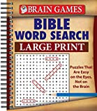 Brain Games - Bible Word Search (Large Print)