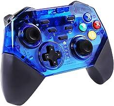 Mando Inalámbrico para Nintendo Switch Bluetooth Controlador Joystick Gamepad Dual Shock y Gyro Axis Compatible con Nintendo Switch Pro
