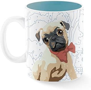 Fringe Studio 399149 TSP Montana Mug, 16 oz, I Love My Pug