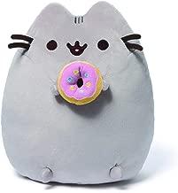 GUND Pusheen Snackables Donut Plush Stuffed Animal Cat, 9.5