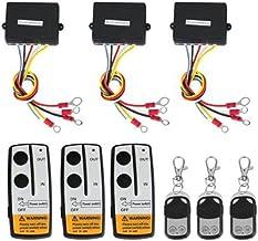 24/V sans fil lovelifeast de t/él/écommande sans fil pour treuil QUAD ATV neuf Manette Kit de voiture 12