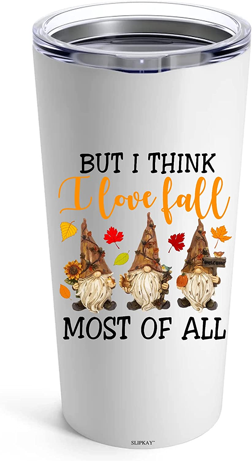 UMAR But I Some reservation Think Love Fall Most Thanks 2 All Giving Tumbler gift Of