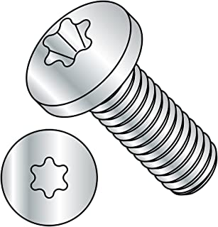 M6 x 20-50 Pack A2 Stainless Steel Torx Flanged Button Screws Hexobular Six Lobe TX30 ISO 7380-1