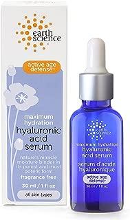 Earth Science Maximum Hydration Hyaluronic Acid Serum — moisturizing & anti-aging, 1 oz.