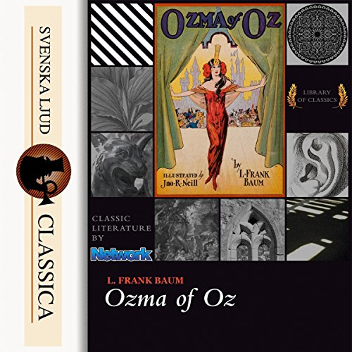 Ozma of Oz Titelbild