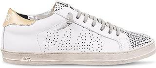 Women's John Italian Leather & Velvet Roy Sneaker