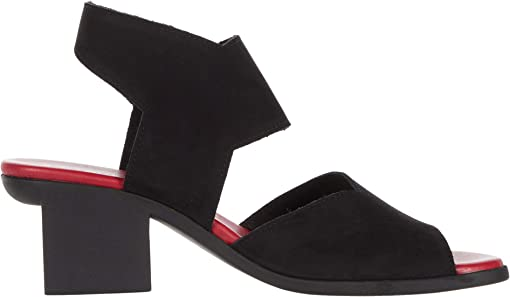 Noir Lotus (Red Insole)