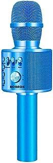 BONAOK Wireless Bluetooth Karaoke Microphone,3-in-1 Portable Handheld karaoke Mic Speaker..