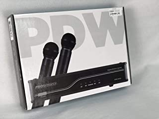 Proformance PDW-HH2AA UHF Digital Wireless System with 2-Handheld Mics