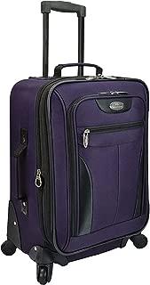 Charleville 20 Inch Spinner Luggage (Purple)