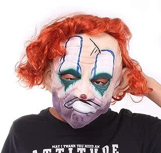 HUIMEIS AU Halloween Mask Gel Mask Clown Mask Horror Funny Mask