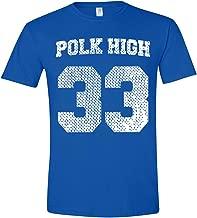 Funny Threads Outlet Polk High Al Bundy Jersey Basic Men's T-Shirt