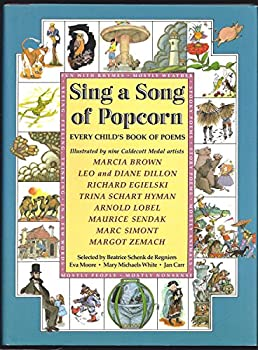 Hardcover Sing a Song of Popcorn : Every Child's Book of Poems Book