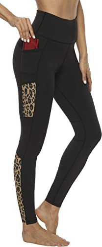 Persit Leggings for Women-Workout High Waisted Womens Leggings with Pockets Tummy Control Yoga Pants