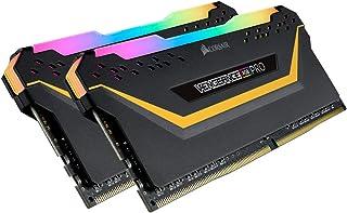 CORSAIR DDR4-3200MHz デスクトップPC用 メモリ Vengeance RGB PRO シリーズ 16GB [8GB × 2枚] CMW16GX4M2C3200C16-TUF