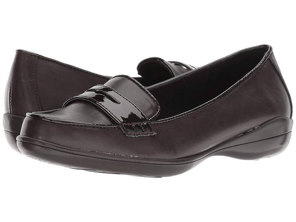 Soft Style Daly (Dark Brown Vitello/Patent) Women