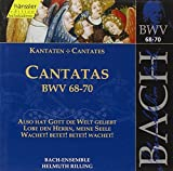 Bach J S : Cantatas, Bwv 68-70