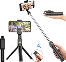 Bluetooth Selfie Stick Photo Wireless Tripod Compatible with Apple 11 Huawei Samsung Mobile Phone Live Broadcast Support Integrated Selfie Stick Multi-Function Selfie Stick Telescopic