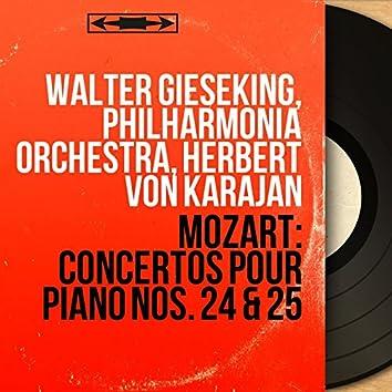 Mozart: Concertos pour piano Nos. 24 & 25 (Mono Version)