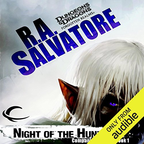 Night of the Hunter audiobook cover art
