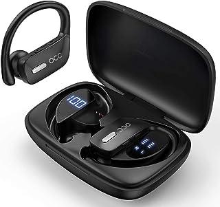 YOTOCOOL Bluetooth Headphones-True Wireless Earbuds 48Hrs Playtime Earphones TWS Deep Bass Loud Voice Call Over Ear Waterp...