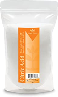 Citric Acid 3 lbs. 100% Pure Food Grade, Kosher, Non-GMO, for Cooking, Baking, Cleaning, Bath Bomb and Soap Making.
