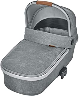 Maxi-Cosi Oria Lightweight Baby Carrycot, Fits all Maxi-Cosi Strollers, 0-6 Months, Nomad Grey