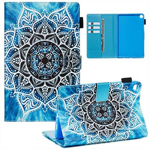 Careynoce Galaxy Tab A 10.1 2016 Tablet Case, Geschilderd Patroon PU Leer Magnetisch Boek Flip Portemonnee Tablet Case voor Samsung Galaxy Tab A 10.1