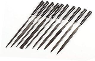 X-DREE 10 Pcs Metal Hobby Jewellers Repair Tools Precision File Set 3 x 145mm (58bdc84e-a222-11e9-8d7c-4cedfbbbda4e)