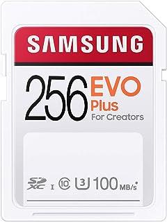 Samsung EVO Plus SDカード 256GB SDXC UHS-1 U3 100MB/s MB-SC256H/EC 国内正規保証品