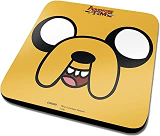 Adventure Time Jake Official Drinks Coaster Protective Melamine Cover With Cork