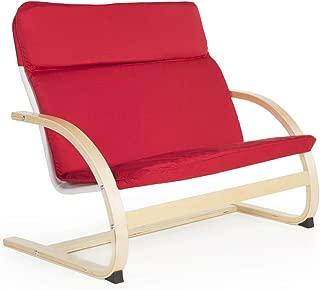 Guidecraft Kiddie Rocker Couch (Red)