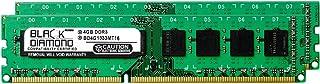 8GB 2X4GB RAM Memory for Gigabyte GA-7 Series GA-790FXTA-UD5 DDR3 DIMM 240pin PC3-10600 1333MHz Black Diamond Memory Modul...