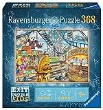 Ravensburger EXIT Puzzle Kids - 12926 Im Freizeitpark - 368 Teile Puzzle für Kinder ab 9 Jahren, Kinderpuzzle