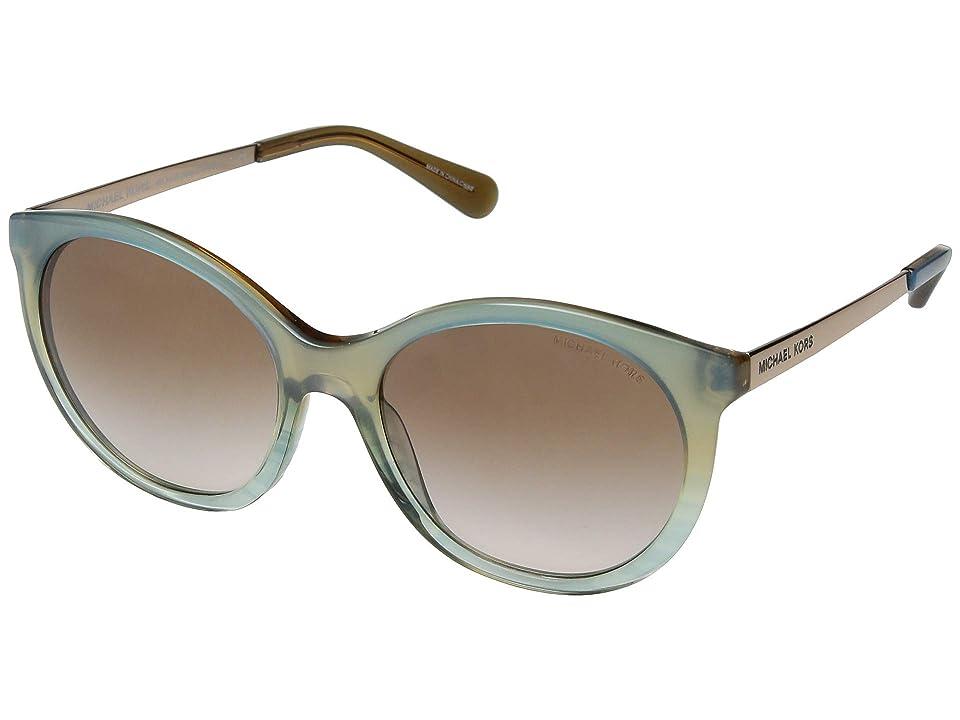 Michael Kors 0MK2034 (Multicolor Green) Fashion Sunglasses