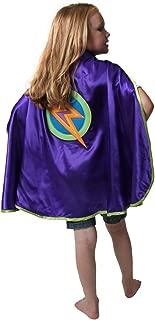 Making Believe Purple Lightning Bolt Cape
