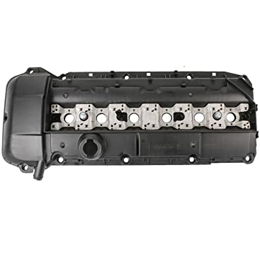 Mostplus 11121432928 11121748630 Ventildeckel Zylinderkopfhaube Deckel Mit Dichtung Kompatibel Mit E46 E53 E39 E38 Z3 X5 Auto