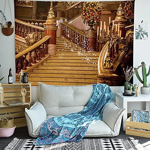 Castillo Tapiz Pared Indio Diseño Decoración Habitación Niños Salón Dormitorio Picnic Toalla Playa 150X200Cm