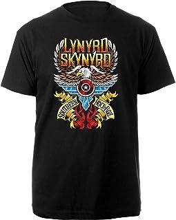 Desconocido Lynyrd LSTS02MB03 Skynyrd - Camiseta, Color Negro
