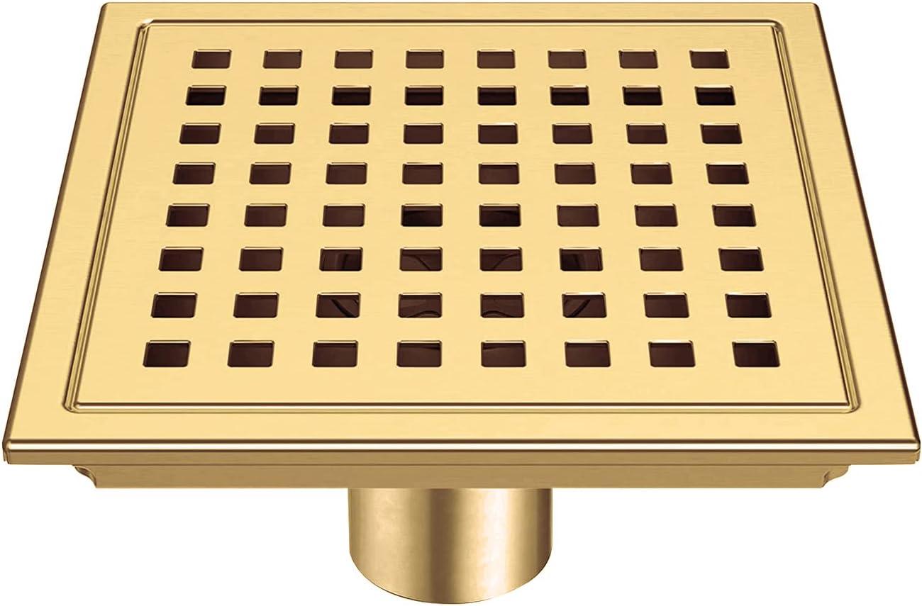 Rare Shower Floor Drain 6 OFFer Inch B Steel Stainless Frascio
