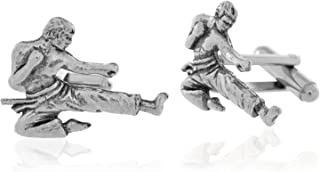 karate cufflinks