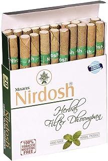 TheHerbalShop's NEW Nirdosh Tobacco FREE Herbal Cigarettes - 20/pack!