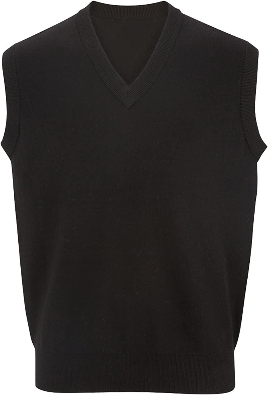 Ed Garments V-Neck Cotton Sweater Vest
