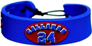 NHL New York Rangers Ryan Callahan Team Color Jersey Bracelet