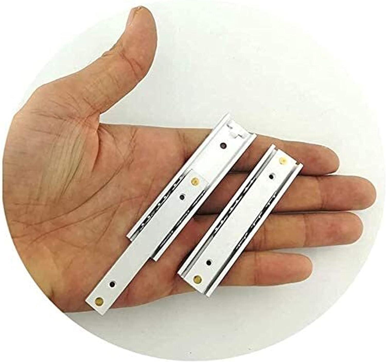 Seupeak Mini Drawer Slide Rail Alloy New Shipping Free Shipping Aluminum Max 55% OFF 2 Fold Extension