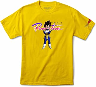 Skateboards Dragon Ball Z Shirt Nuevo Vegeta Yellow Size S